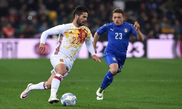 Bóng đá - Italy vs Tây Ban Nha 22h59, ngày 27/06