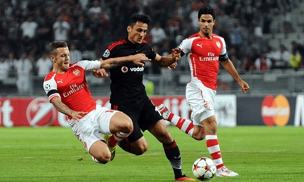 Arsenal vs Besiktas JK: 01h45, ngày 28/08