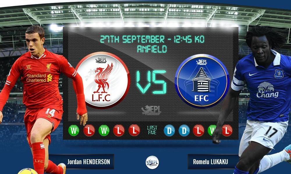 Liverpool vs Everton: 18h45, ngày 27/09