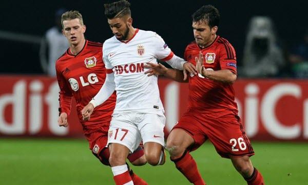 Bóng đá - Monaco vs Bayer Leverkusen 01h45, ngày 28/09