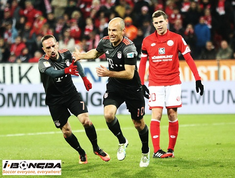 Bayern Munich vs Mainz 05 18/03/2019 00h00