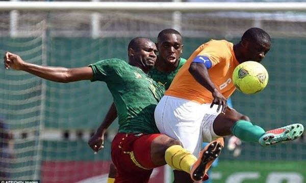 Bóng đá - Bờ Biển Ngà vs Cameroon 01h00, ngày 29/01