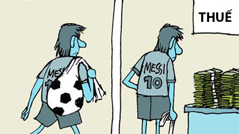 Thư giãn: Tự trọng của Messi, Ronaldo và Van Gaal ở đâu?