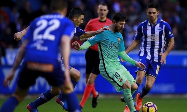 Bóng đá - Barcelona vs Alaves 02h45, ngày 29/01