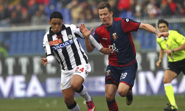 Bóng đá - Genoa vs Udinese 21h00, ngày 28/01