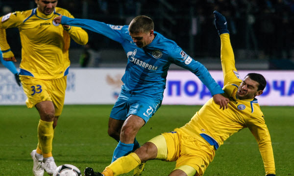 Bóng đá - Zenit St.Petersburg vs Real Sociedad 00h00, ngày 29/09