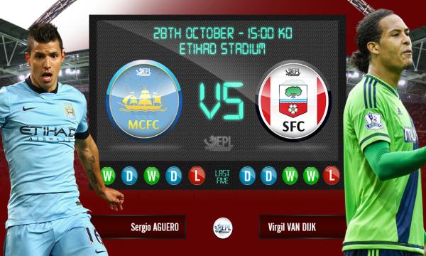 Bóng đá - Manchester City vs Southampton 22h00, ngày 28/11