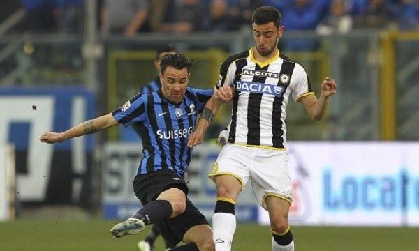 Bóng đá - Udinese vs Atalanta 21h00, ngày 29/10
