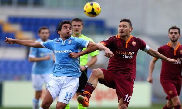 Bóng đá - AS Roma vs Lazio 17h30, ngày 30/04