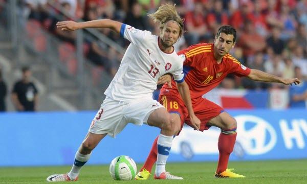 Bóng đá - CH Séc vs Armenia 00h15, ngày 01/09