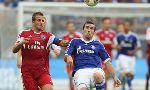 Schalke 04 3-3 Hamburger (German Bundesliga 2013-2014, round 1)