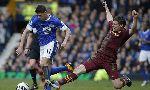 Everton 2-0 Manchester City (England Premier League 2012-2013, round 30)
