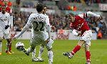 Swansea City 0-2 Arsenal (England Premier League 2012-2013, round 30)