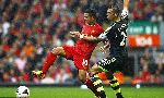 Liverpool 1-0 Stoke City (England Premier League 2013-2014, round 1)