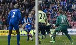Wigan Athletic 2-1 Newcastle (England Premier League 2012-2013, round 30)