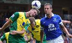 Norwich City 2-2 Everton (England Premier League 2013-2014, round 1)