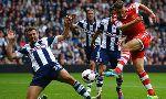 West Bromwich(WBA) 0-1 Southampton (England Premier League 2013-2014, round 1)