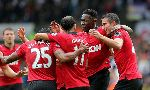 Swansea City 1-4 Manchester United (England Premier League 2013-2014, round 1)