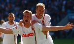 Augsburg 3-1 Greuther Furth (German Bundesliga 2012-2013, round 34)