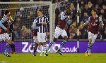 West Bromwich 2-2 Aston Villa (Highlights vòng 23, giải Ngoại Hạng Anh 2012-13)