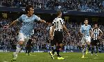 Manchester City 4-0 Newcastle (England Premier League 2013-2014, round 1)