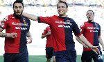 Cagliari 2-1 Atalanta (Italian Serie A 2013-2014, round 1)