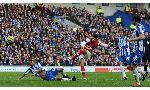 Brighton 2-3 Arsenal (Highlights vòng 4, cúp FA 2012-13)