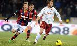 Bologna 3-3 AS Roma (Italian Serie A 2012-2013, round 22)