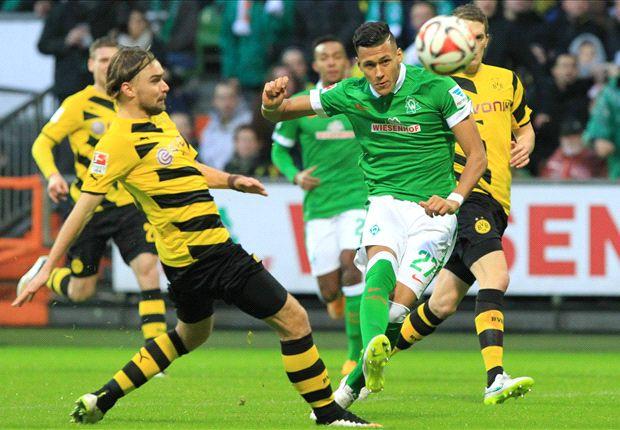 Werder Bremen vs Borussia Dortmund ( hiệp 1 )