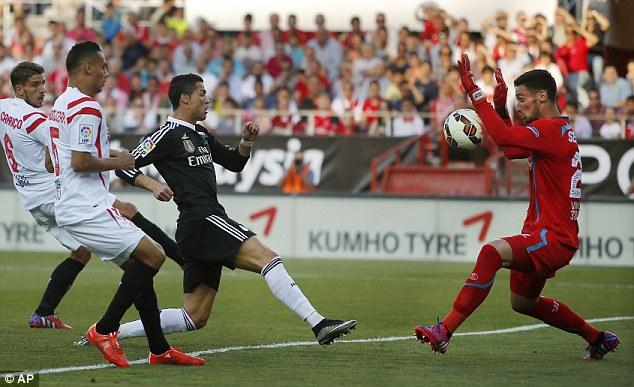 Sevilla2- 3Real Madrid