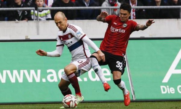 Bayern Munich thắng kèo 6/8 trận đối đầu gần nhất