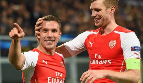 Anderlecht 1 - 2 Arsenal (Champions League 2014-2015, vòng bảng)