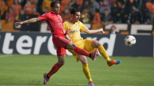APOEL Nicosia 0 - 1 Paris Saint Germain (Champions League 2014-2015, vòng bảng)