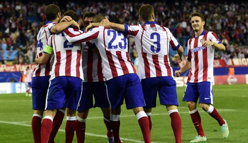 Atletico Madrid 5 - 0 Malmo FF (Champions League 2014-2015, vòng bảng)