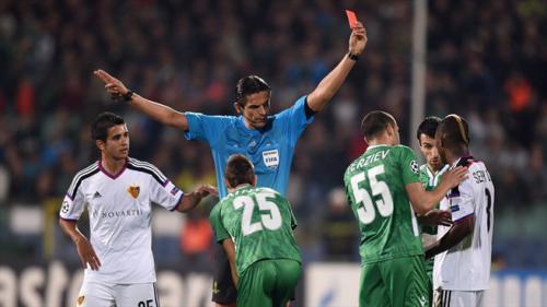 Ludogorets Razgrad 1 - 0 Basel (Champions League 2014-2015, vòng bảng)
