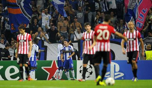Porto 2 - 1 Athletic Bilbao (Champions League 2014-2015, vòng bảng)