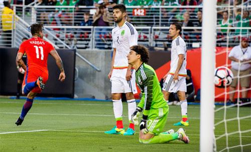Chile 7 - 0 Mexico (Copa America 2016, vòng )