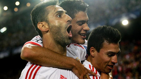 Atletico Madrid 1 - 2 SL Benfica (Cúp C1 Champions League 2015-2016, vòng bảng)