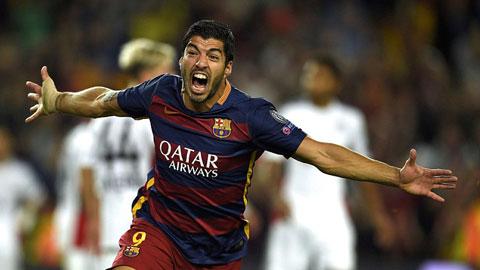 Barcelona 2 - 1 Bayer Leverkusen (Cúp C1 Champions League 2015-2016, vòng bảng)