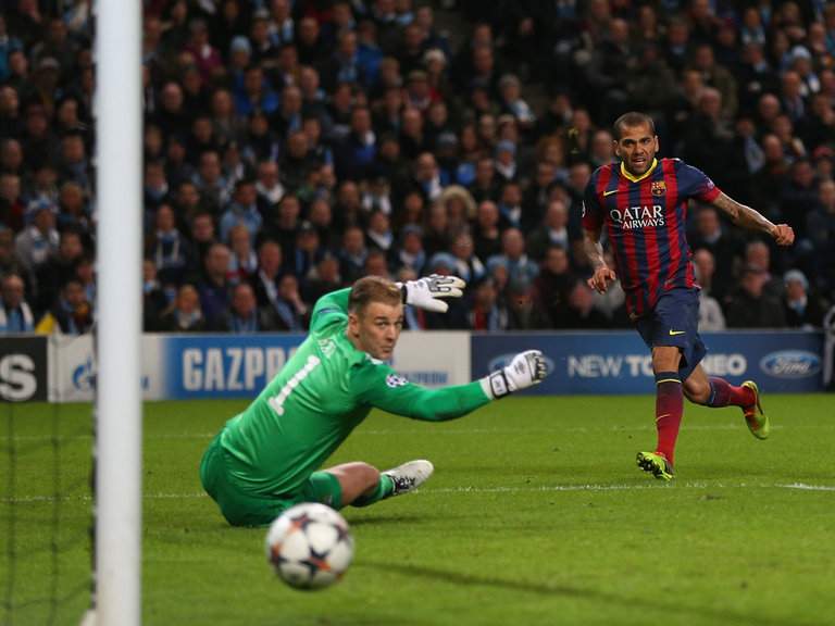 Barcelona 1 - 0 Manchester City (Cúp C1 Champions League 2014-2015, vòng 1/8 Final)