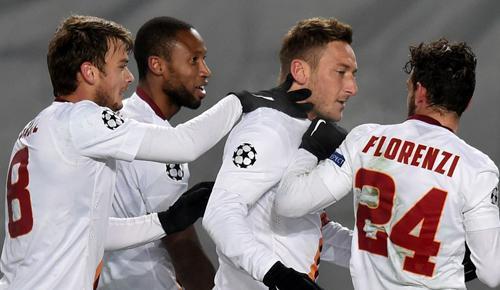CSKA Moscow 1 - 1 AS Roma (Cúp C1 Champions League 2014-2015, vòng bảng)