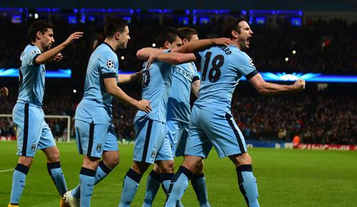 Manchester City 3 - 2 Bayern Munich (Cúp C1 Champions League 2014-2015, vòng bảng)
