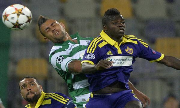Sporting Lisbon 3 - 1 NK Maribor (Cúp C1 Champions League 2014-2015, vòng bảng)