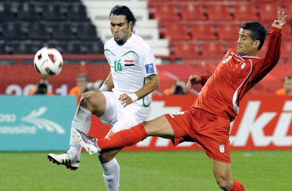 Iran 0 - 1 Iraq (Cúp Châu Á (Asian Cup) 2013-2015, vòng )
