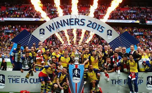 Arsenal 4 - 0 Aston Villa (Cúp FA 2014-2015, vòng Final)