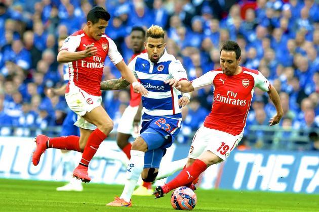 Reading 1 - 2 Arsenal (Cúp FA 2014-2015, vòng Semifinal)