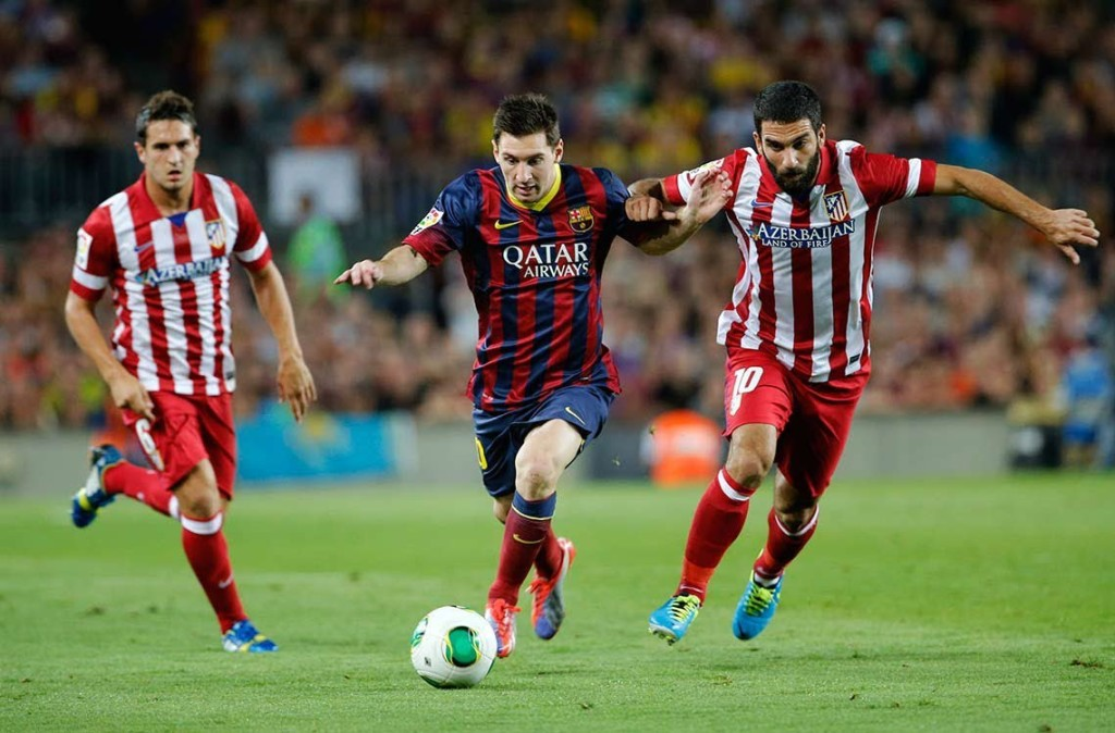Barcelona 1 - 0 Atletico Madrid (Cup Nhà Vua Tây Ban Nha 2014-2015, vòng )