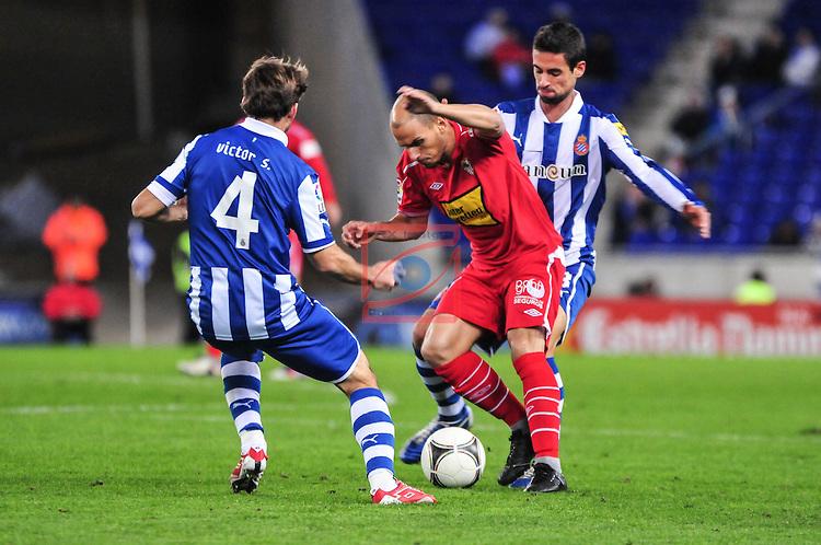 Espanyol 3 - 1 Sevilla (Cup Nhà Vua Tây Ban Nha 2014-2015, vòng )