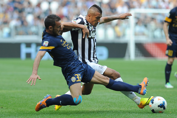 Juventus 6 - 1 Hellas Verona (Cúp quốc gia Italia 2014-2015, vòng )