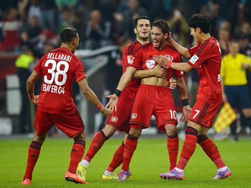 Bayer Leverkusen 1 - 0 Schalke 04 (Đức 2014-2015, vòng 9)
